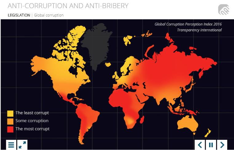 Anti-corruption and anti-bribery Training