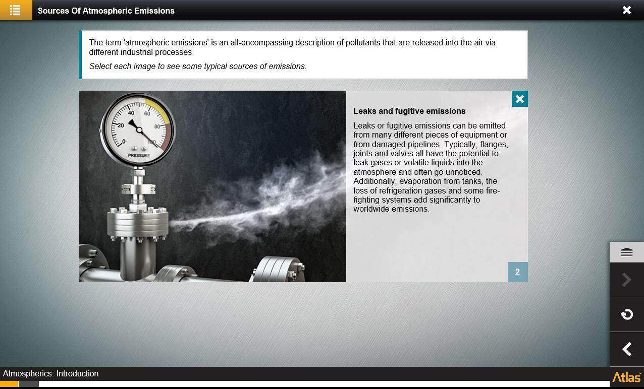Atmospheric Emissions Training 2