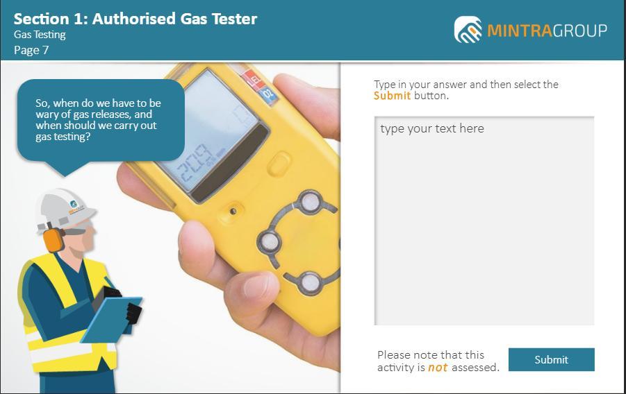 Authorised Gas Tester Training 2