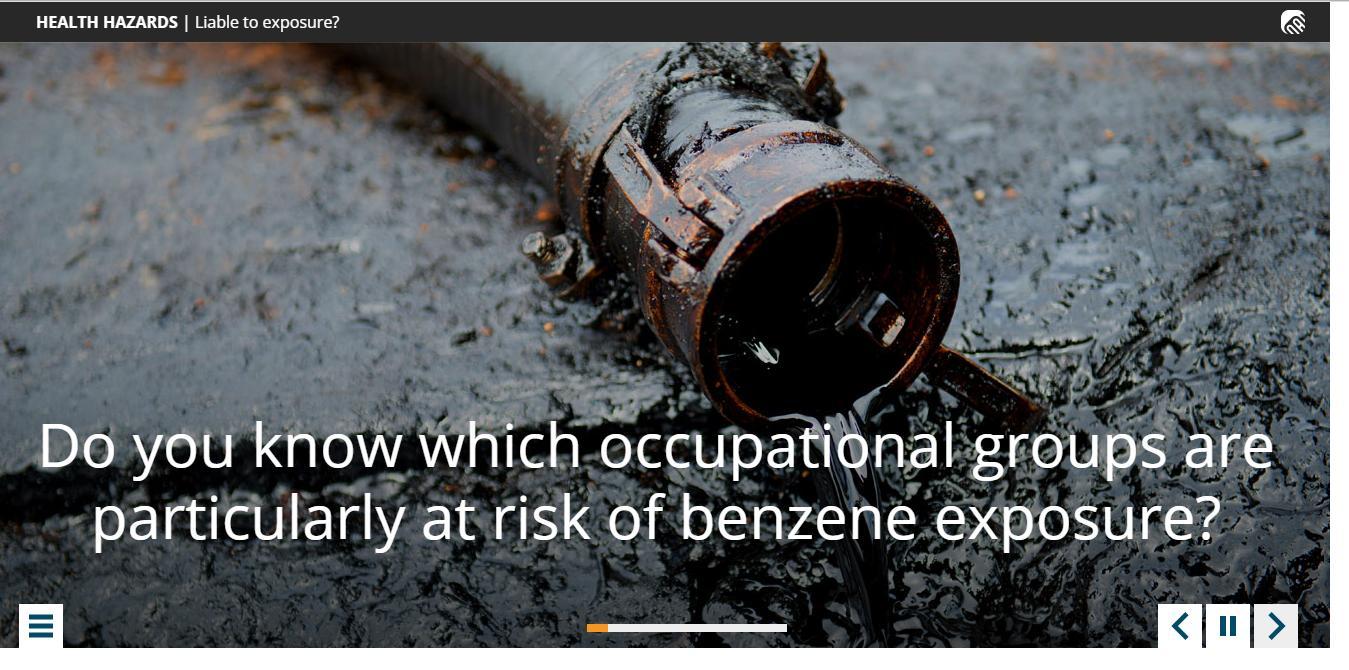 Benzene Exposure Training