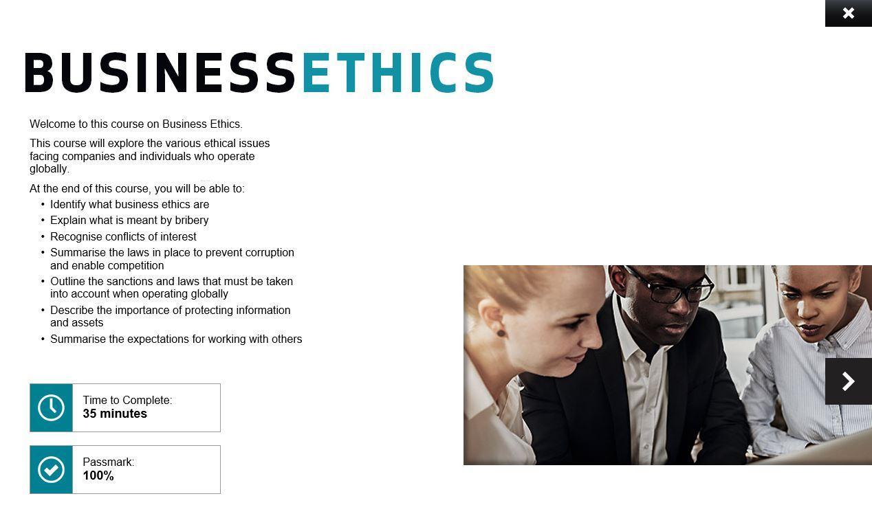 Business Ethics Training 2