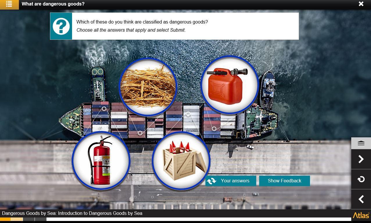 Dangerous Goods by Sea Training 2