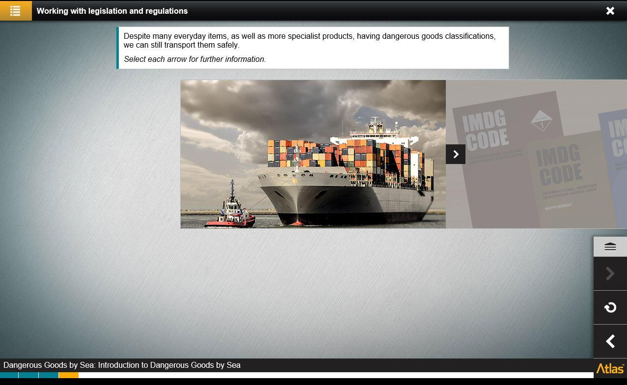 Dangerous Goods by Sea Training 4