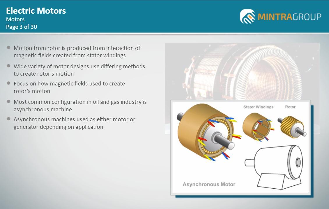 Electric Motors Training