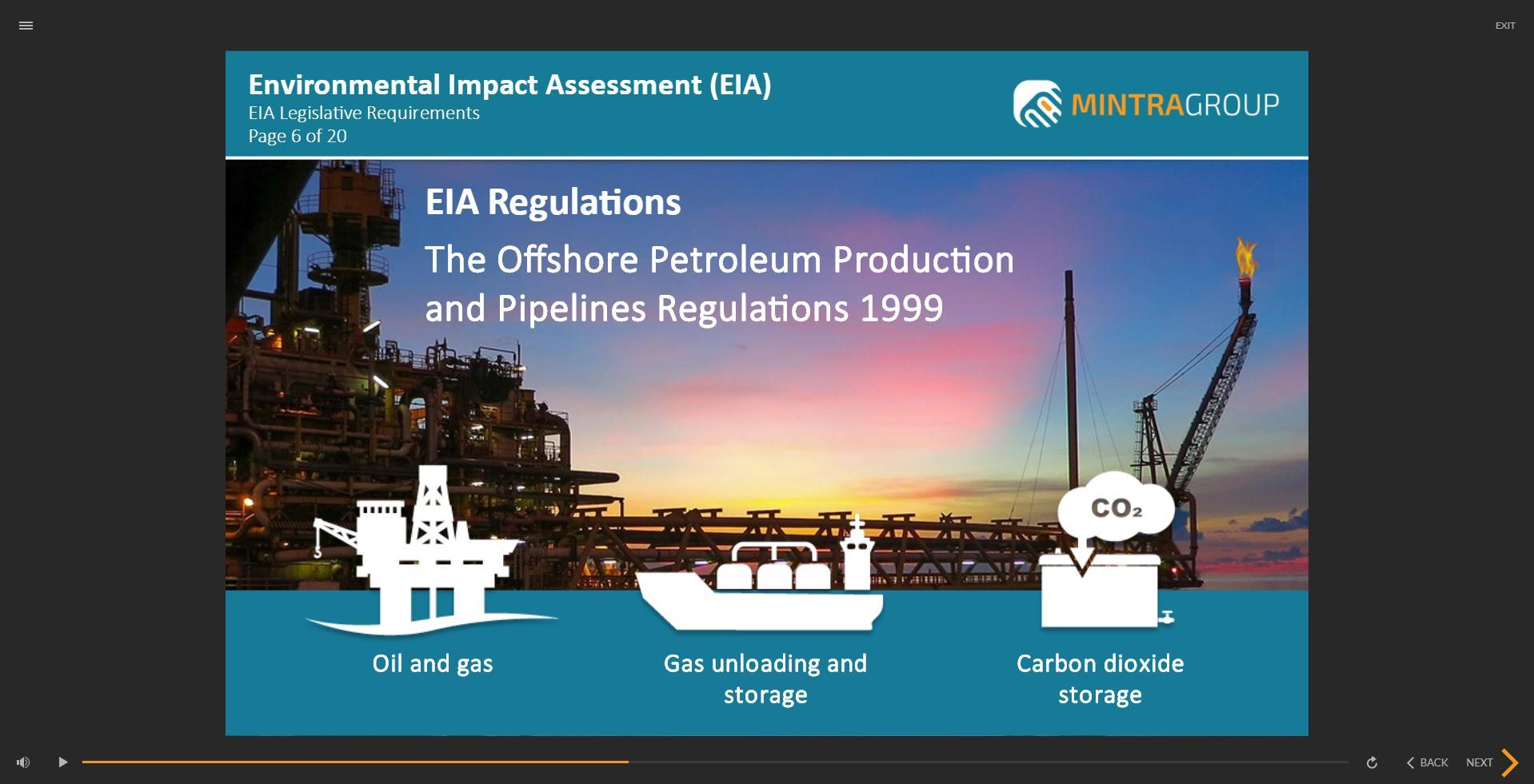 Environmental Impact Assessment EIA Training 2