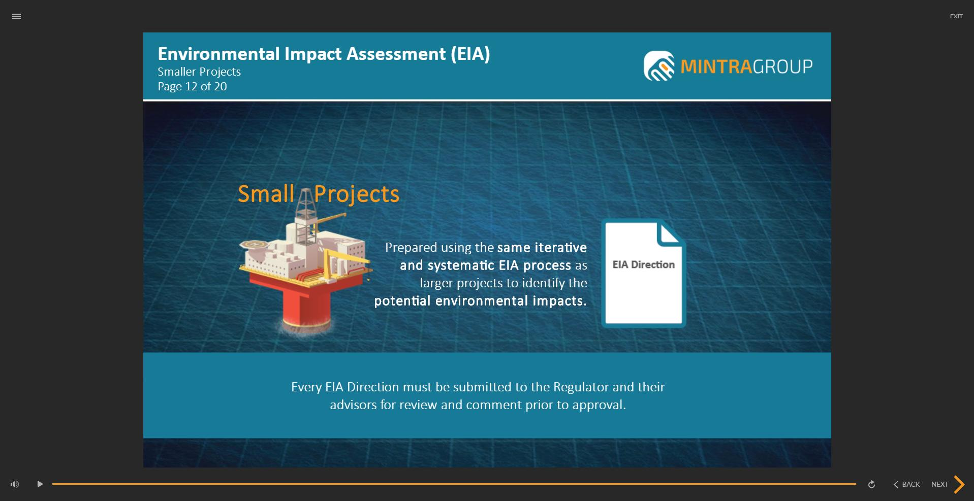 Environmental Impact Assessment EIA Training 3