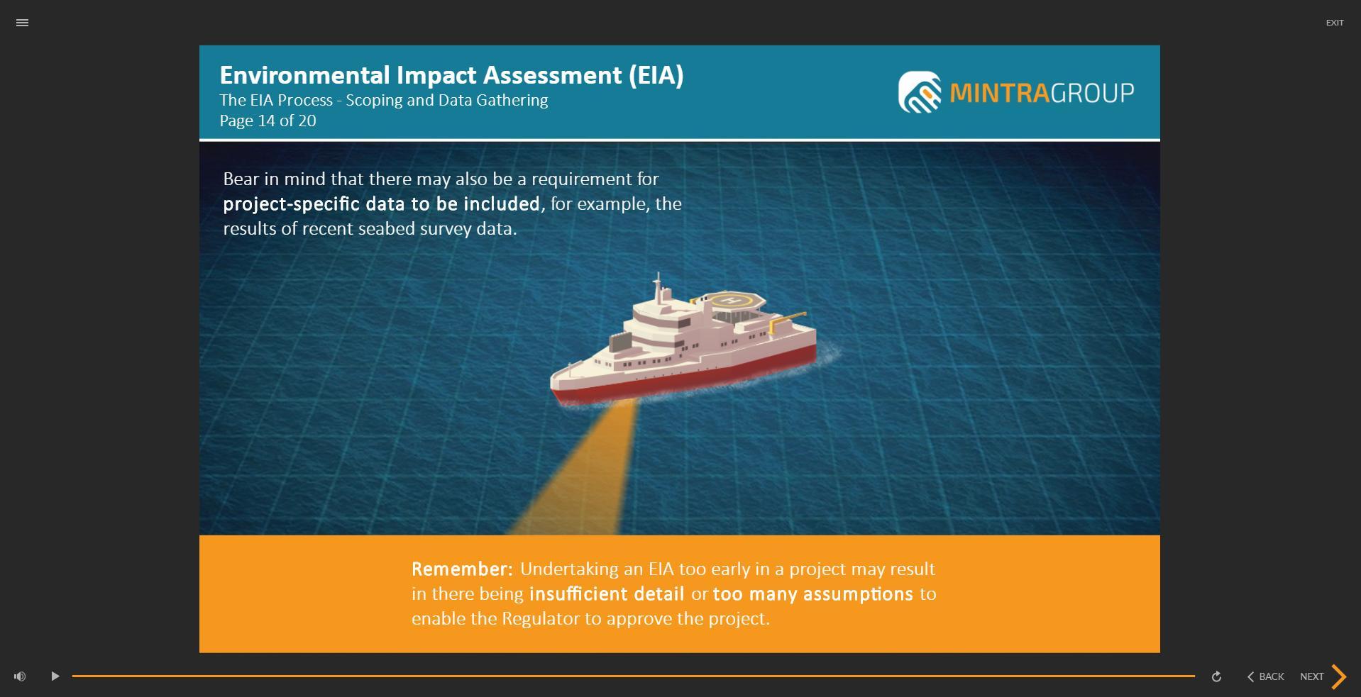 Environmental Impact Assessment EIA Training 4