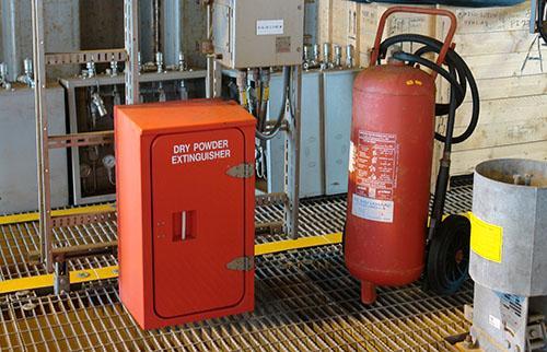 Fire Extinguisher Usage Training