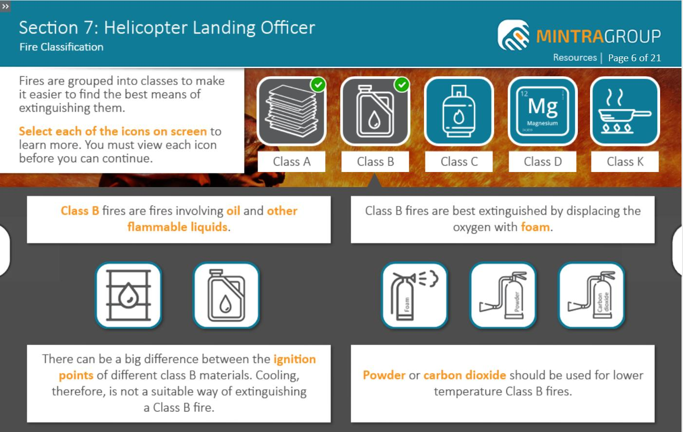 Helicopter Landing Officer (HLO) Training