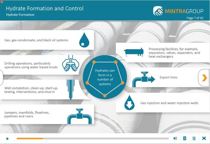 Hydrate Formation and Control Training 2