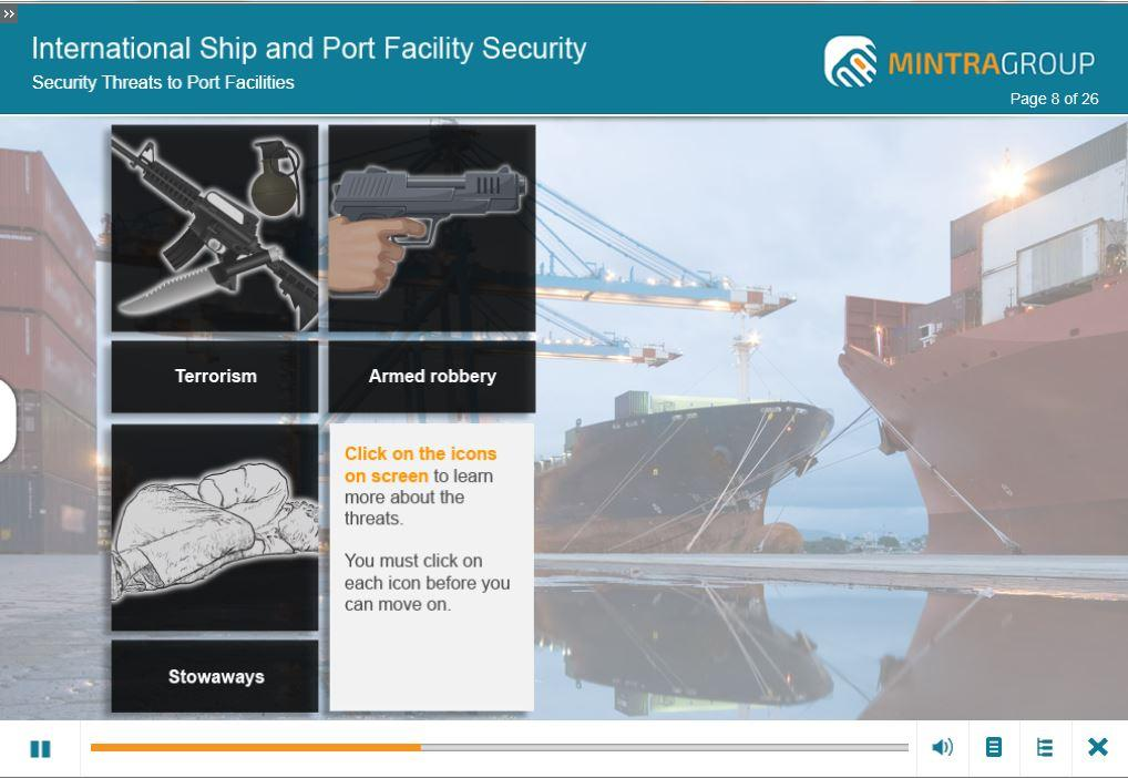International Ship and Port Security ISPS Training 3