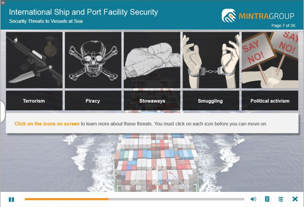 International Ship and Port Security ISPS Training 4