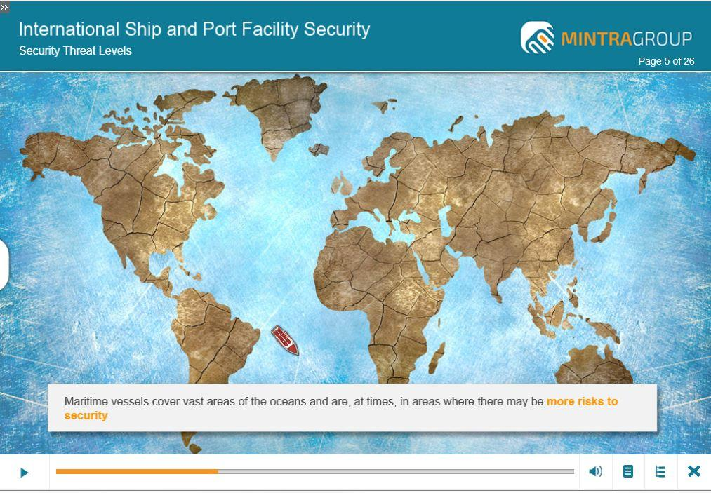 International Ship and Port Security ISPS Training 5