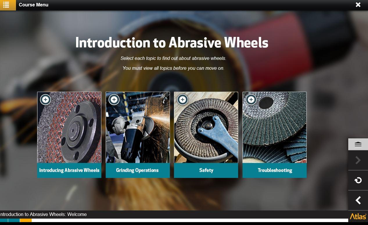 Introduction to Abrasive Wheels Training 3