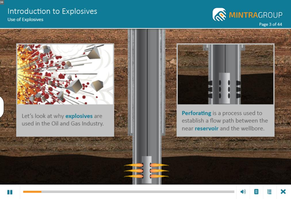 Introduction to Explosives Training 2