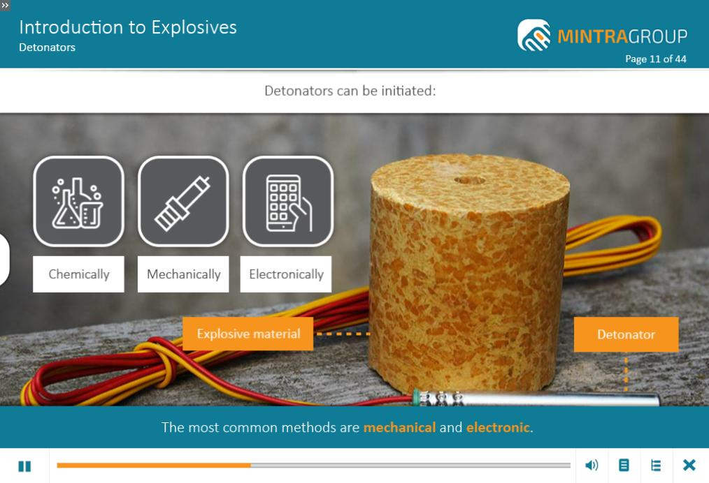 Introduction to Explosives Training 4
