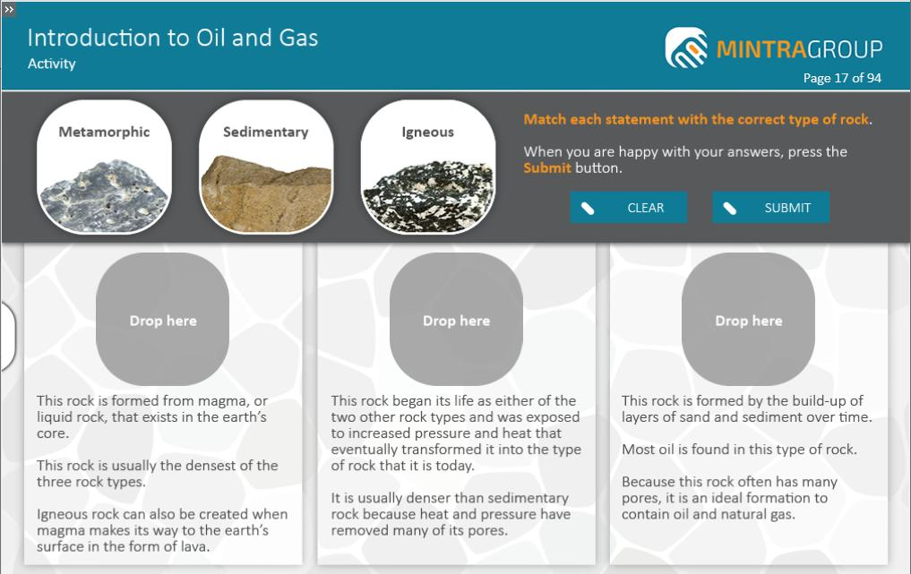 Introduction to Oil and Gas Training 3