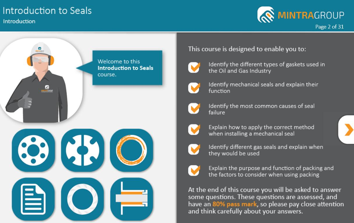Introduction to Seals Training