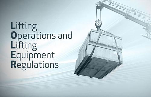 Lifting Operations and Lifting Equipment Awareness LOLER Training
