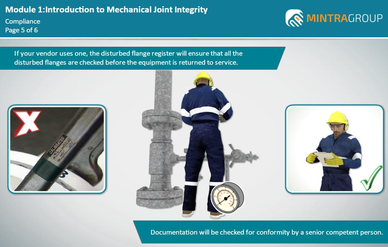 Mechanical Joint Integrity - Hand Torque Bolted Connection Techniques (ECITB - MJI 10) Training