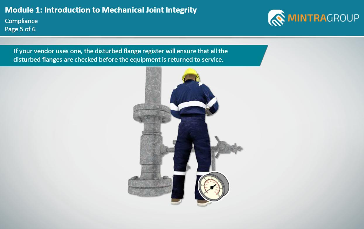 Mechanical Joint Integrity - Hydraulically Tension Bolted Connection Techniques (ECITB - MJI 18) Training