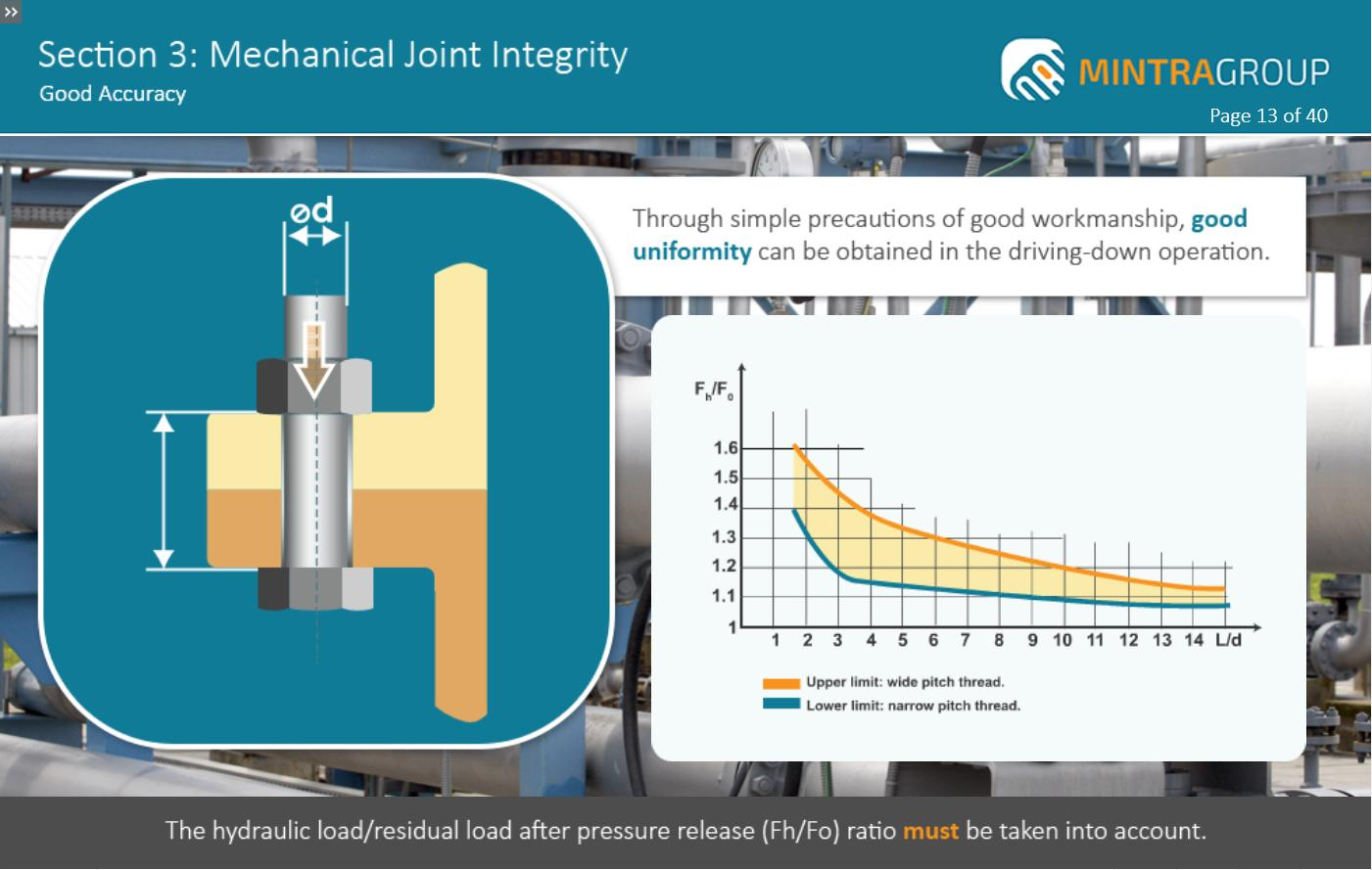 Mechanical Joint Integrity Training 4