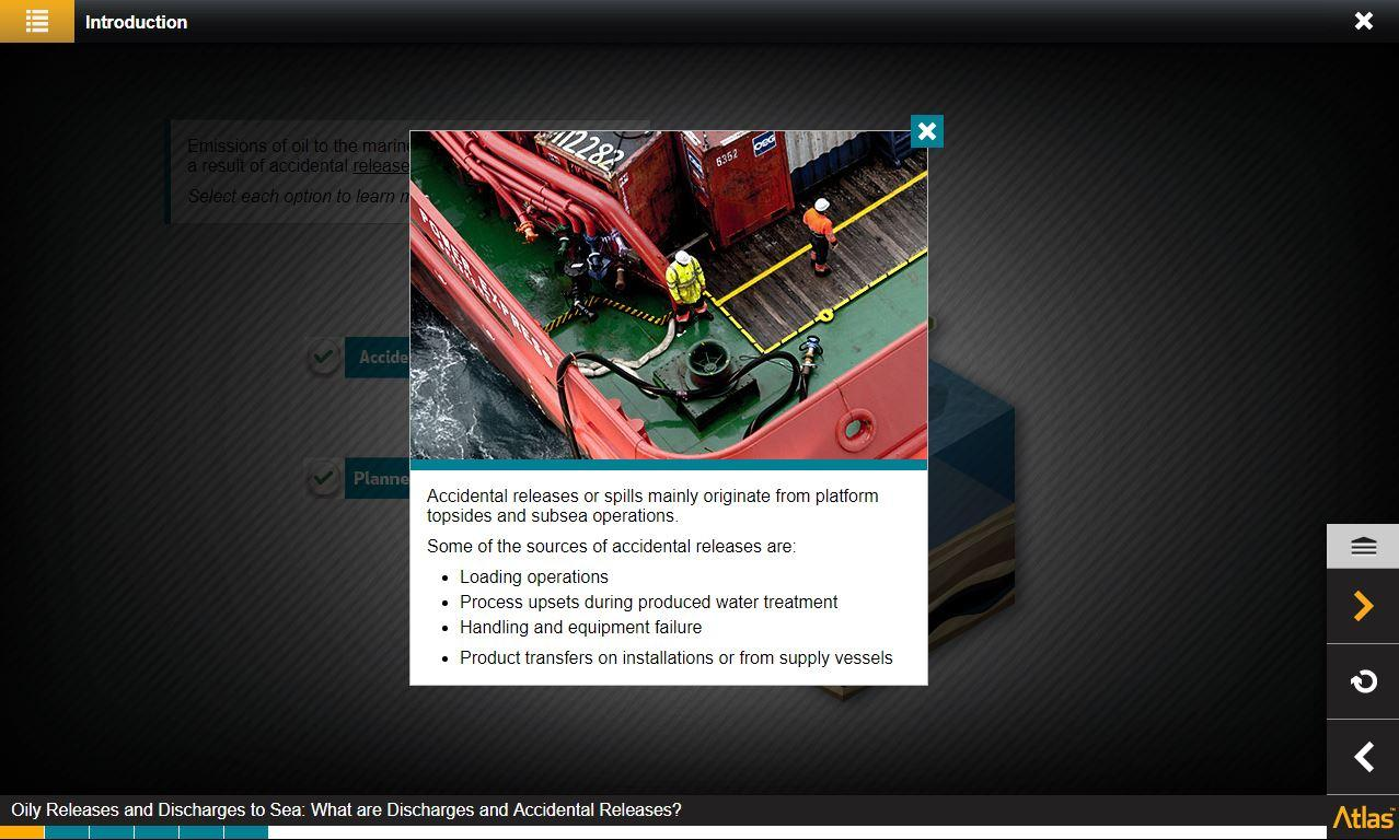 Oily Releases and Discharges to Sea Training 3