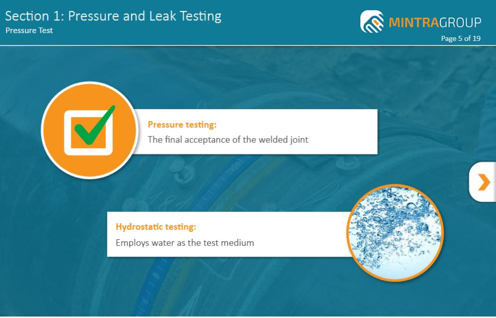 Pressure and Leak Testing Training 2