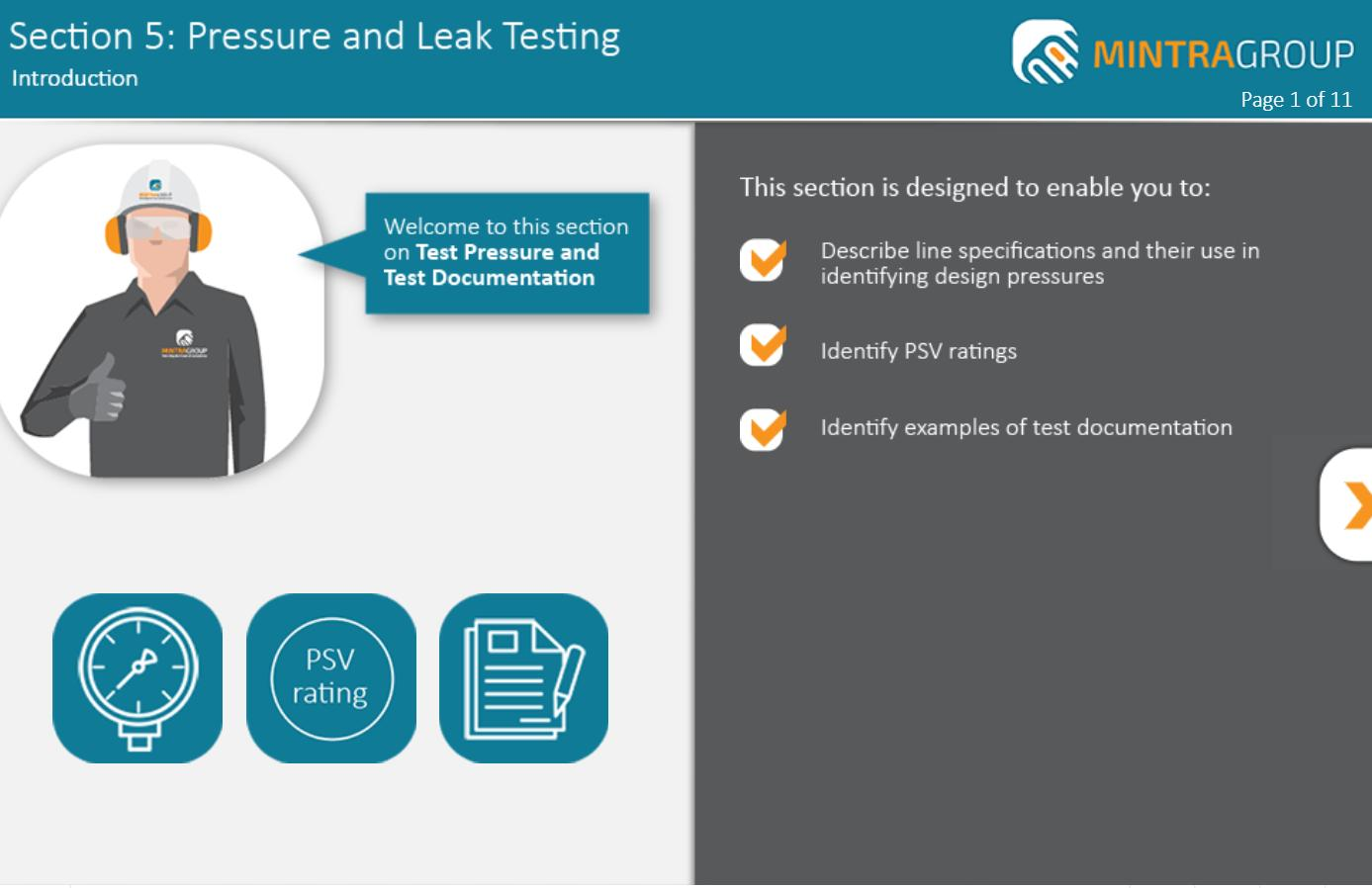 Pressure and Leak Testing Training 5