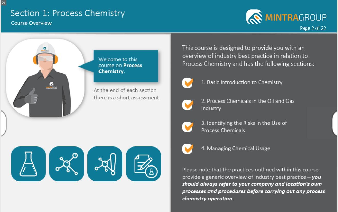Process Chemistry Training 2