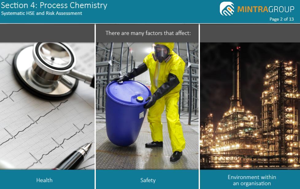 Process Chemistry Training 5