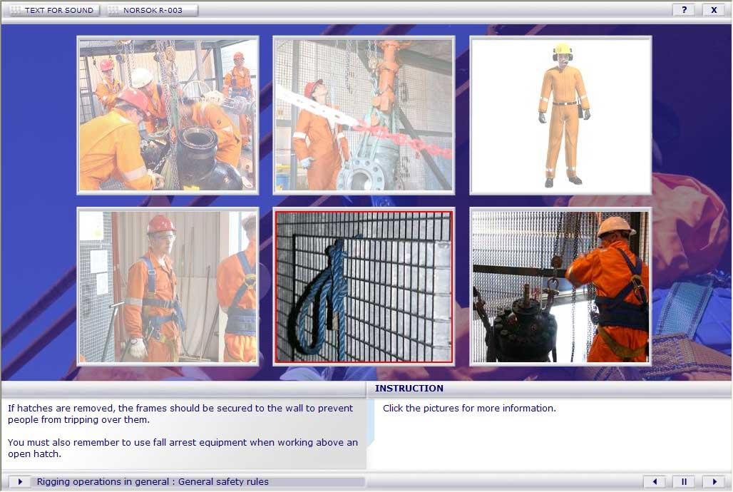Refresher Course for Riggers Training