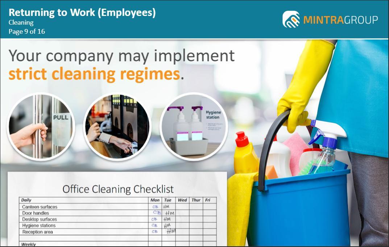 Returning to Work Employees Training 3
