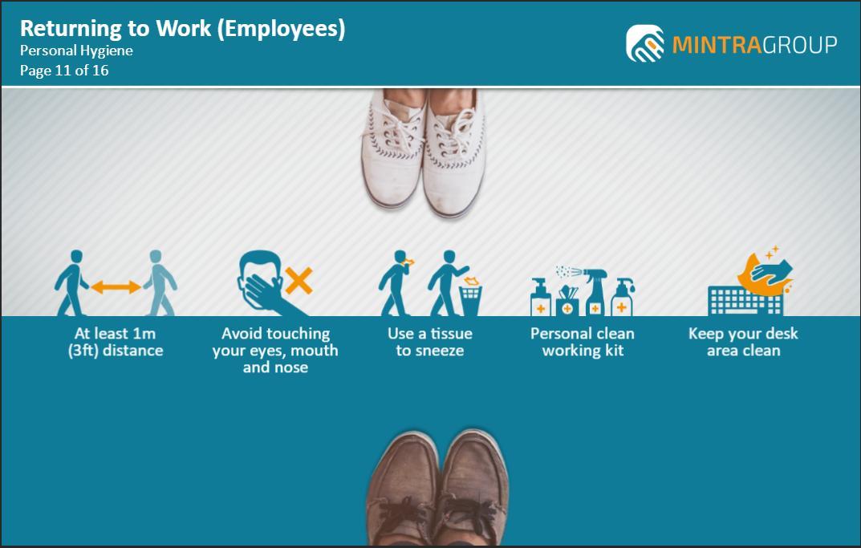 Returning to Work Employees Training 4