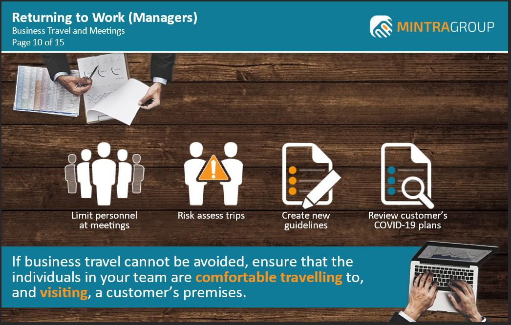 Returning to Work Managers Training 5