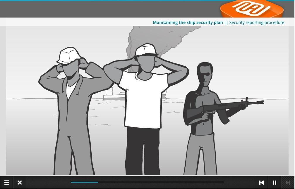 Ship Security training for crew with Designated Security Duties (STCW A-VI/6-2) Training