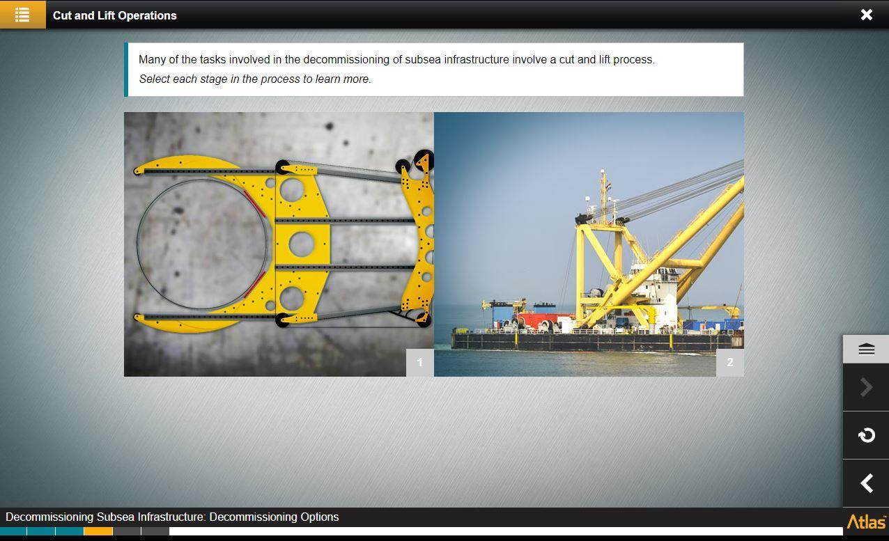 Subsea Infrastructure Decommissioning Training 4