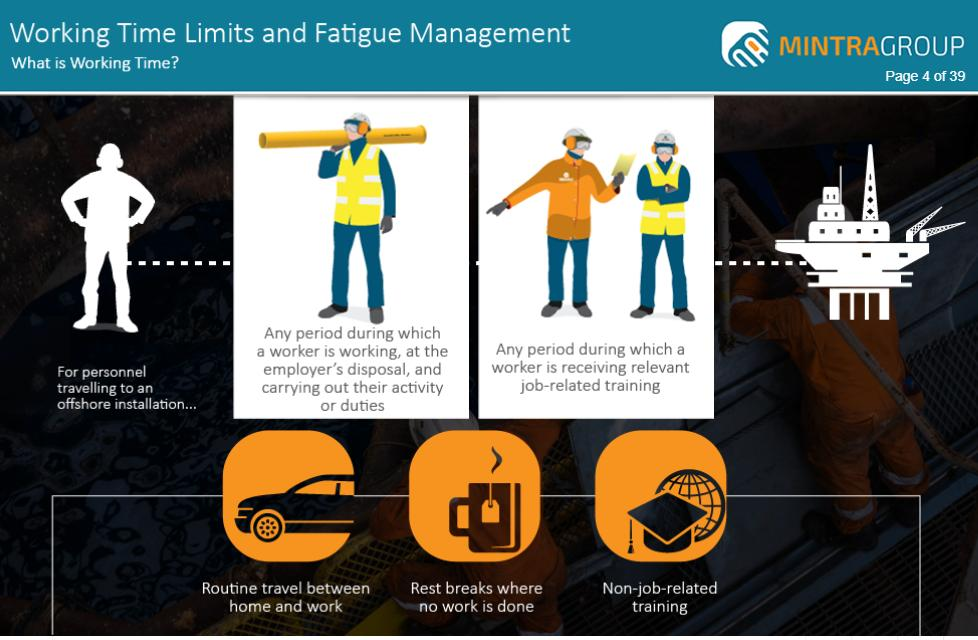 Working Time Limits and Fatigue Management Training 2