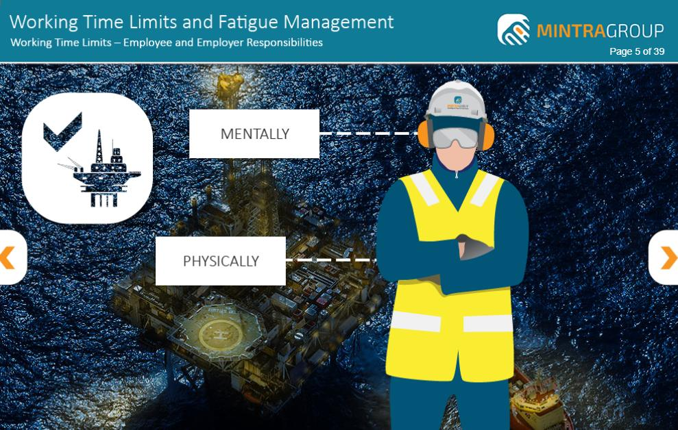 Working Time Limits and Fatigue Management Training 3