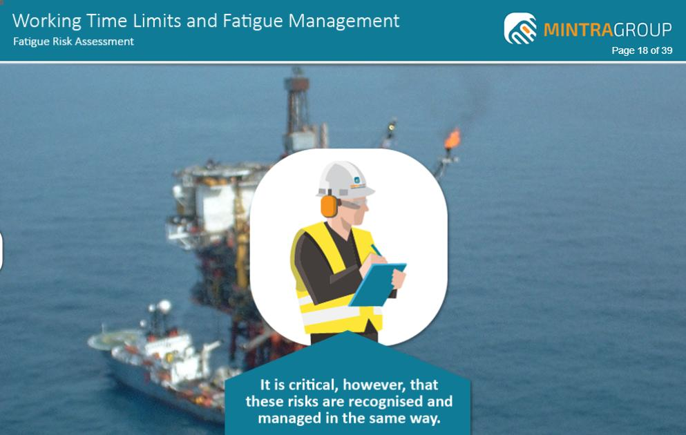 Working Time Limits and Fatigue Management Training 5